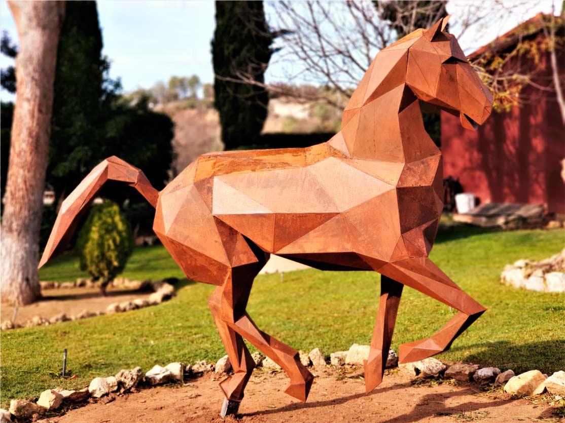 caballo-escultura-acero-sculpturewoyto-espiritu-libre
