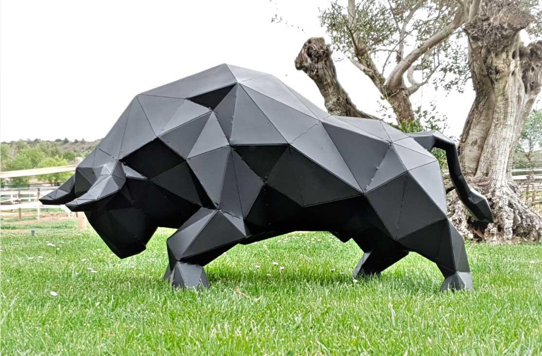 toro-escultura-acero-sculpturewoyto